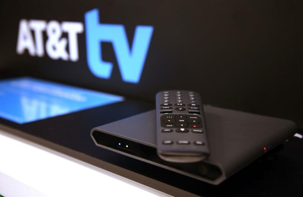 AT&T TV - Прямая трансляция ТВ + приложения с голосовым управлением