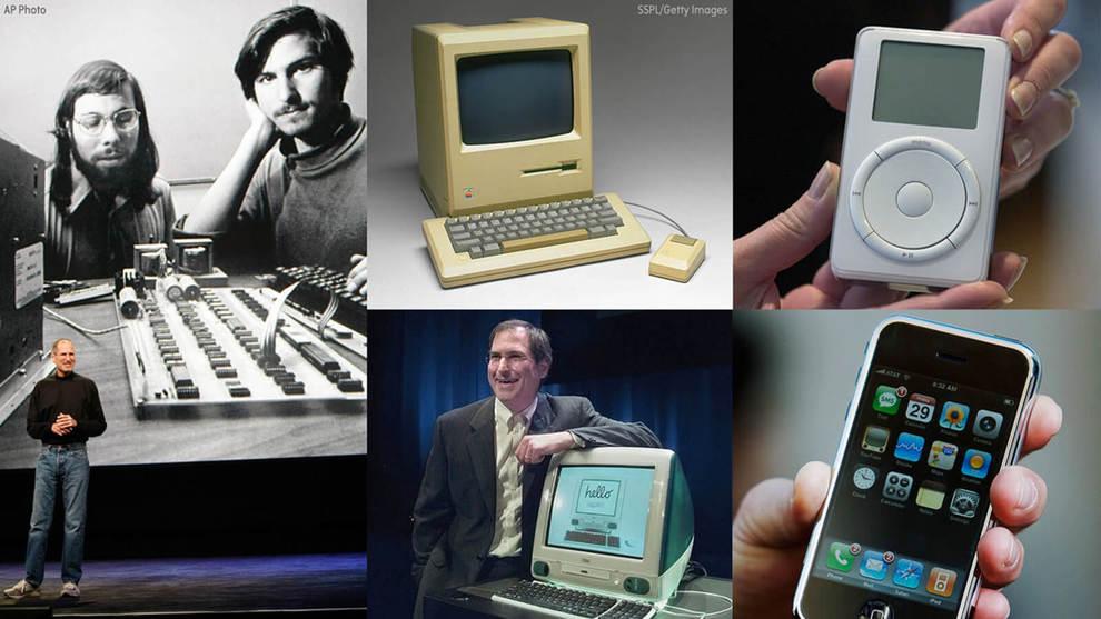 История компании Apple и ее продуктов
