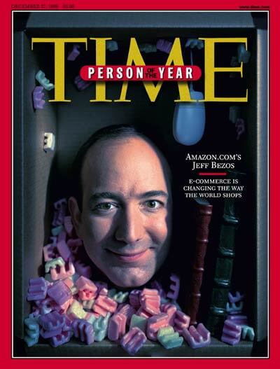 Jeff Bezos - Person of the Year Dec. 27, 1999
