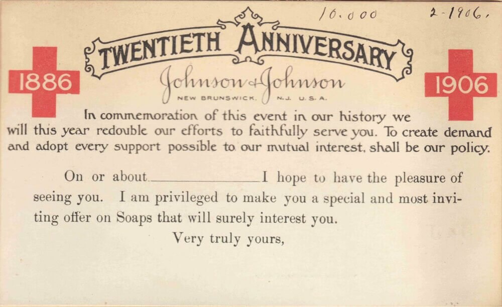 20-я годовщина со дня основания компании J&J