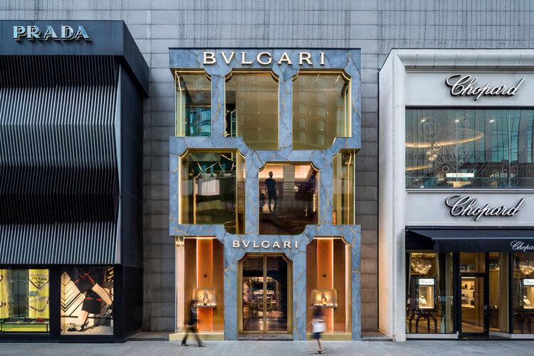 Магазин BVLGARY в Куала-Лумпур