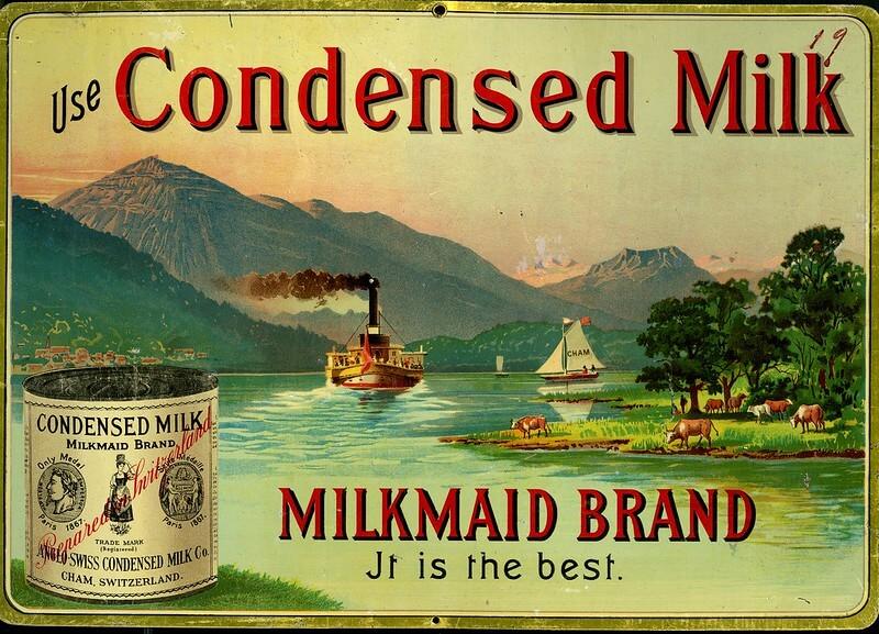 Сгущенное молоко компании. 1904 год