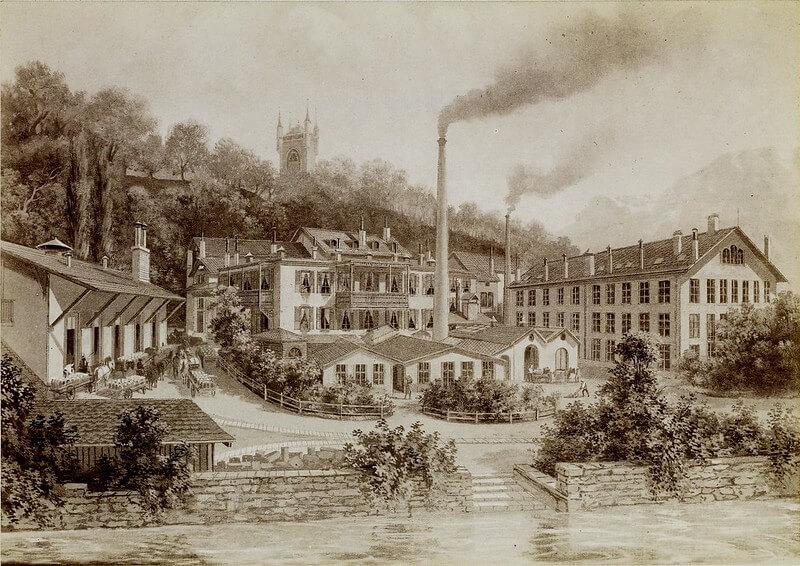 Завод Нестле 1890 г