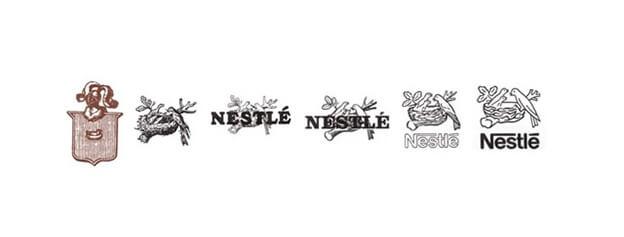 Как менялся логотип компании Нестле