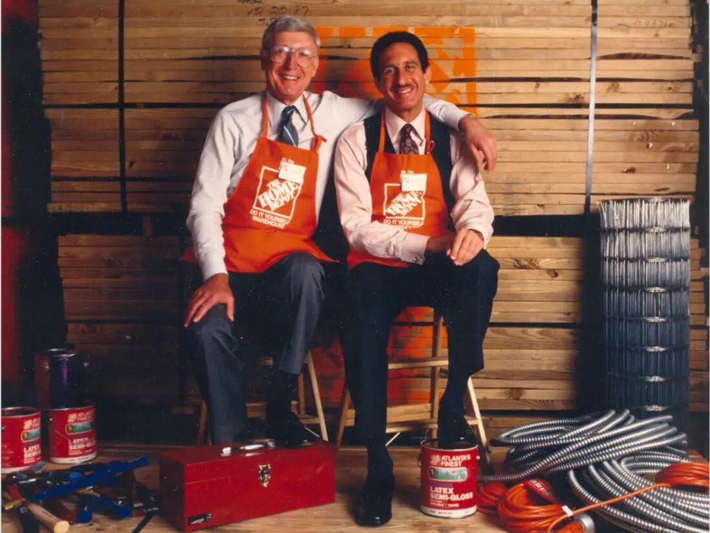 Артур Бланк и Рон Брилл. Основатели Home Depot, Inc