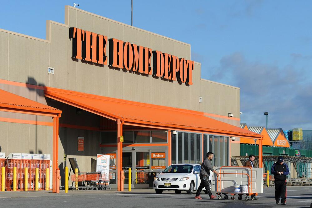 Типичный магазин The Home Depot