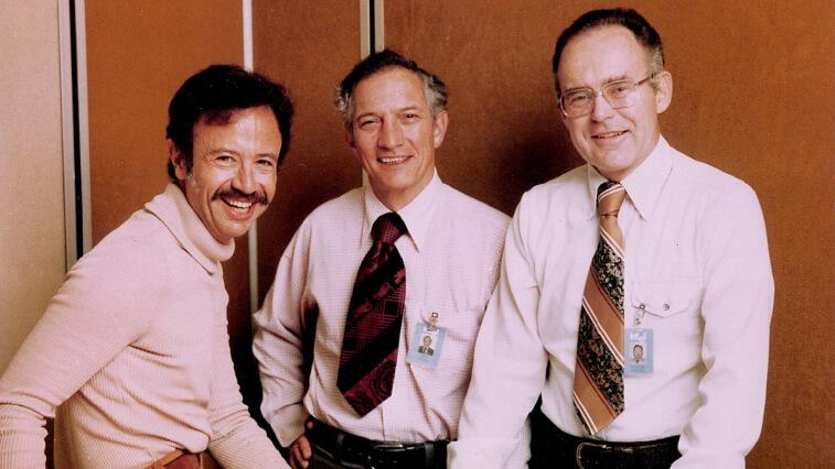 Энди Гроув, Роберт Нойс и Гордон Мур в 1978 году
