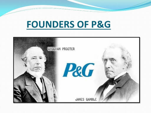 Основатели компании Procter & Gamble - Уильям Проктер и Джеймс Гэмбл