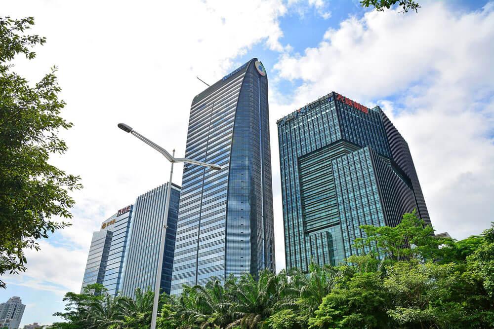 Штаб-квартира Tencent в Шэньчжэнь, Китае