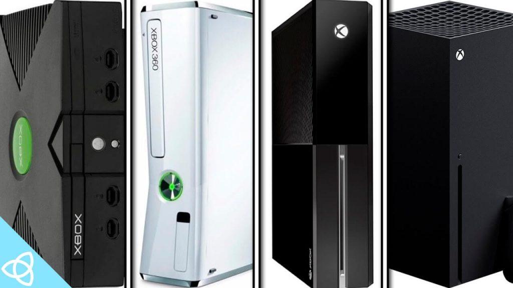 Семейство консолей XBOX от компании Micorosft