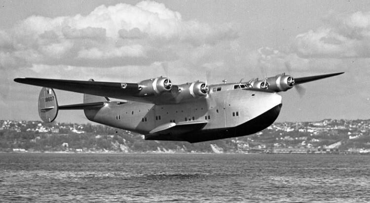 Самолет Boeing 314 Clipper