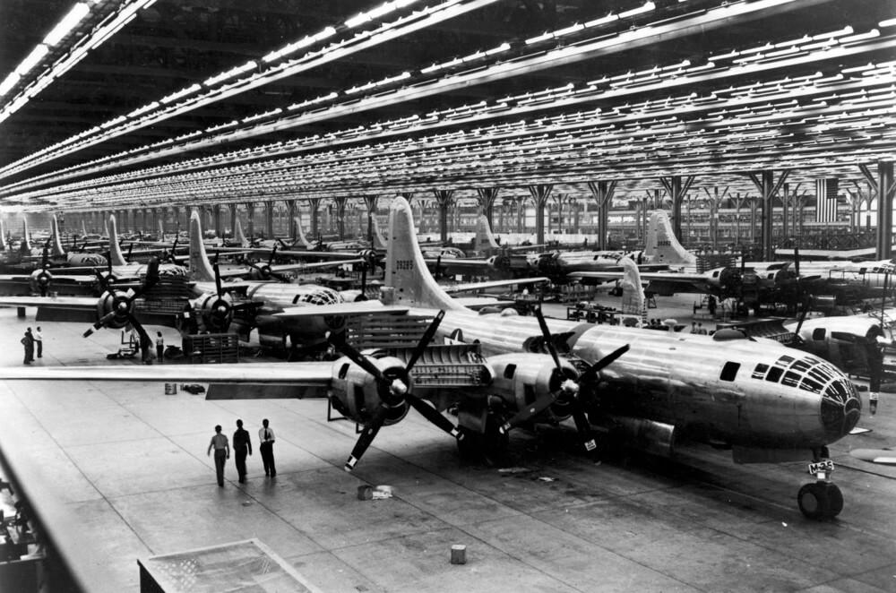 Разработка Boeing B-29