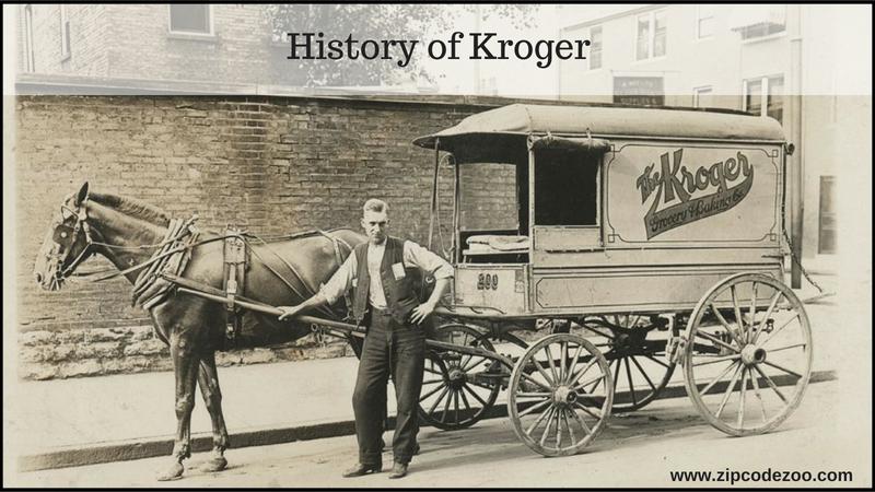История компании Kroger