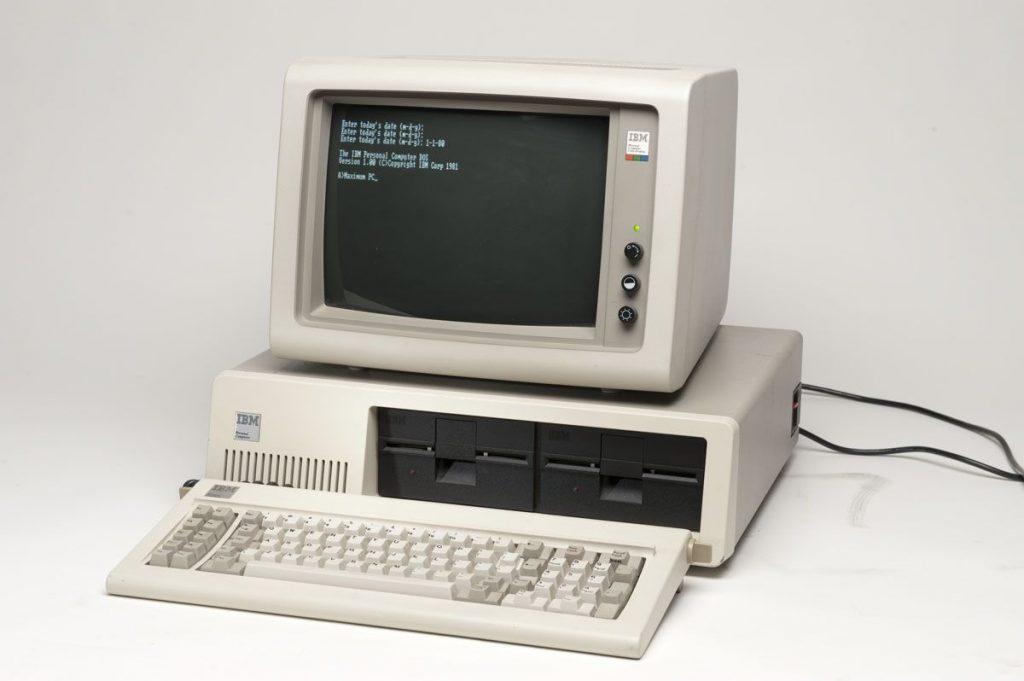 IBM PC модель 5150, 1981 год