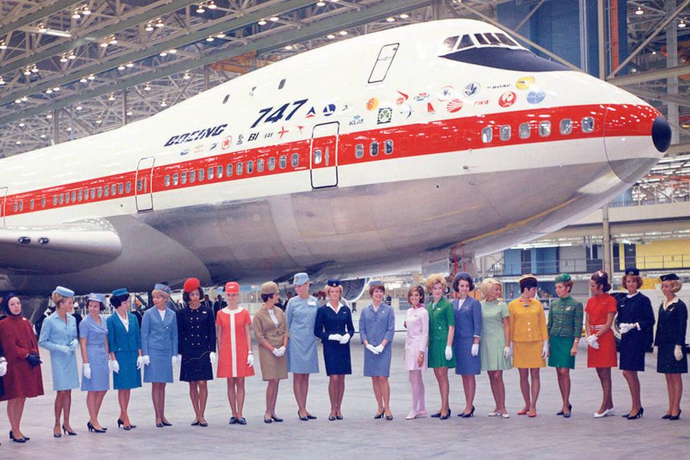 Первый Boeing 747 пополнил флот Qantas в 1971 году. Фото: Qantas