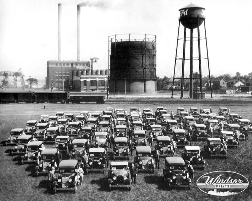 «Форд-Сити» - родина автомобильной промышленности Канады.