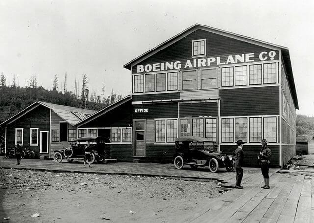 Red Barn, первый завод по производству самолетов Boeing