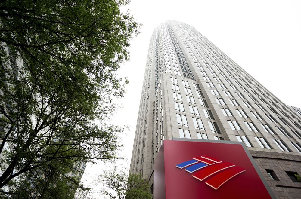 Штаб-квартира банка Bank of America Corporation