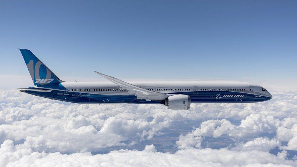 Самолет 787 Dreamliner