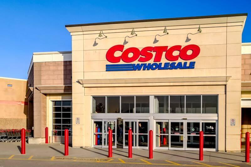 Обычный склад-магазин Costco