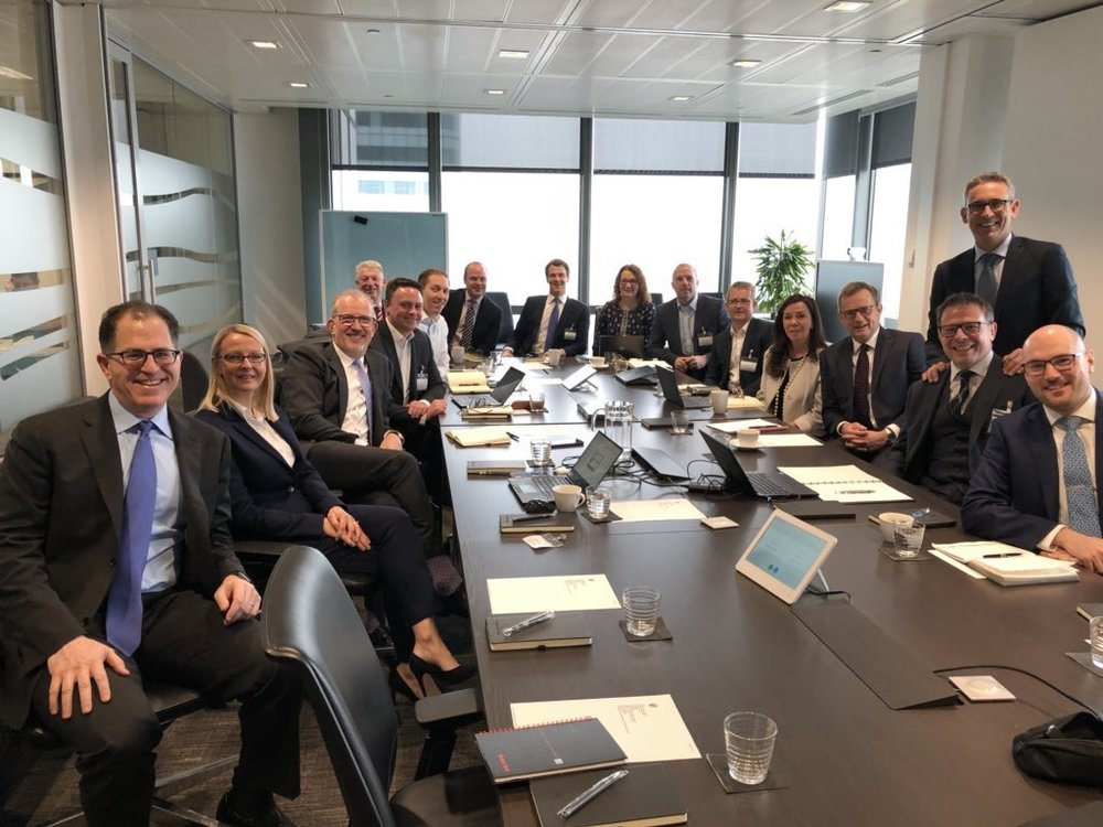 Потрясающая, полезная и веселая неделя с таким количеством замечательных клиентов, партнеров и членов команды @DellTech в Мюнхене, Цюрихе, Брюсселе