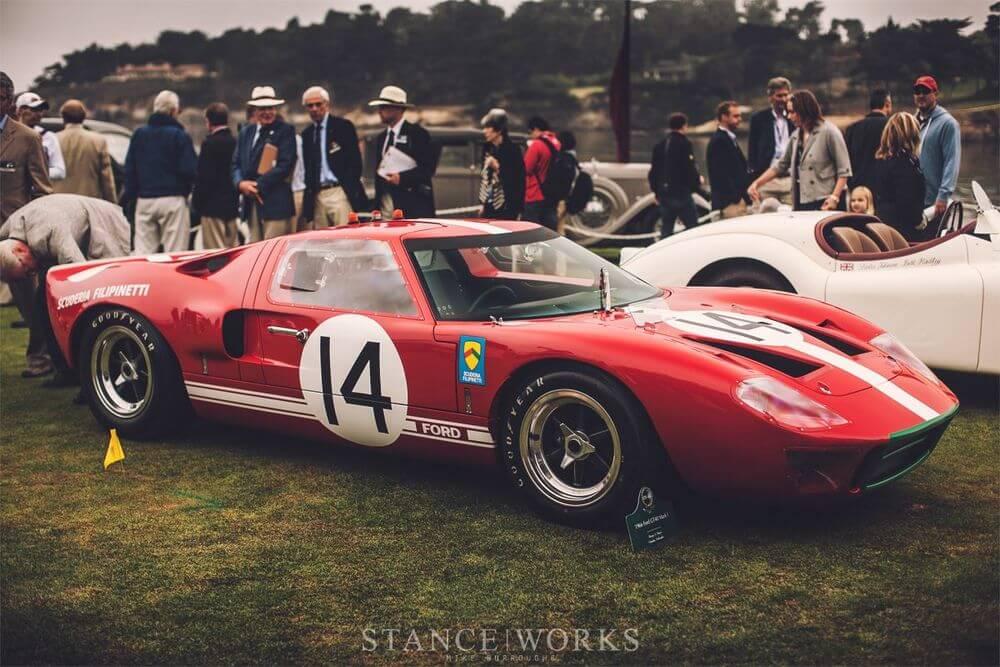Живая легенда - гоночный автомобиль Ford GT40 MK1 Le Mans 1966 года Генри Дэвиса