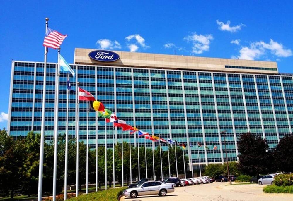 Здание штаб-квартиры компании Форд