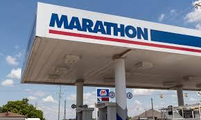 Заправочная станция Marathon Oil Corporation в США