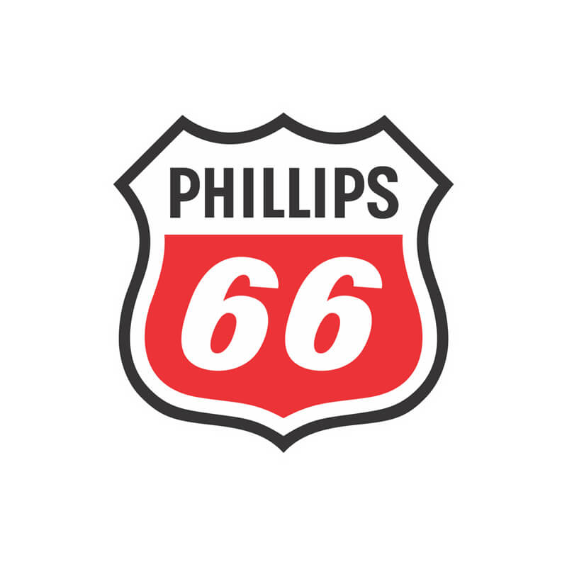 Логотип компании Phillips 66 (Phillips Petroleum Company)