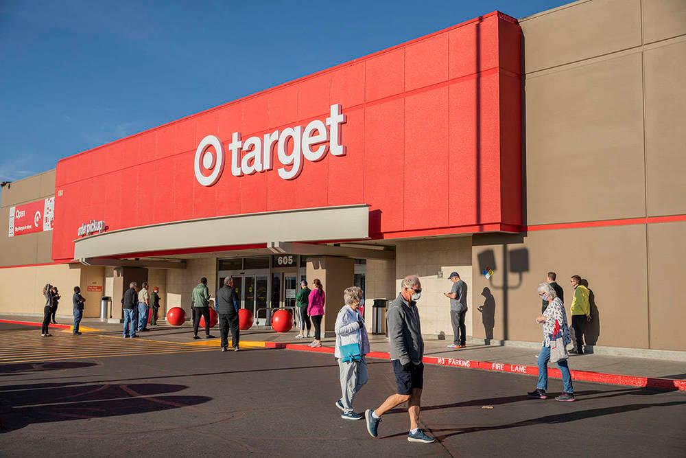 Магазин target в США