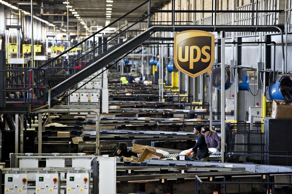 Сортировочный центр UPS