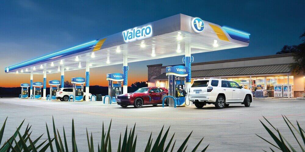 Заправочная станция Valero Energy Corp