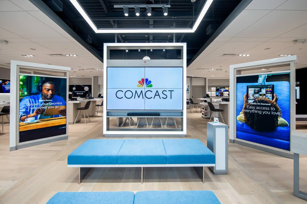 Comcast представляет розничные магазины Xfinity