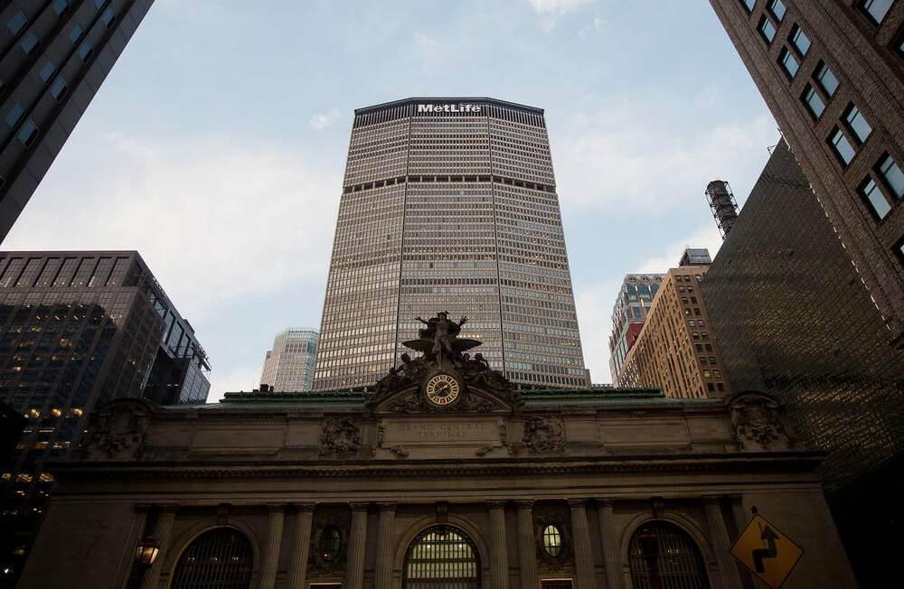 Штаб квартира компании MetLife в Нью-Йорке